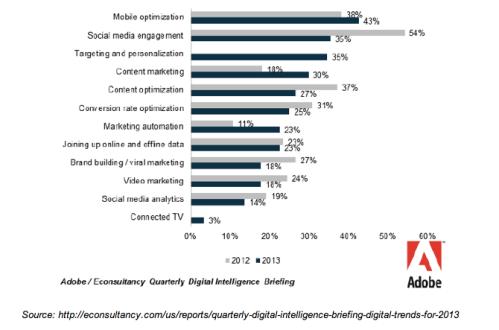 Digital Growth Areas 2013