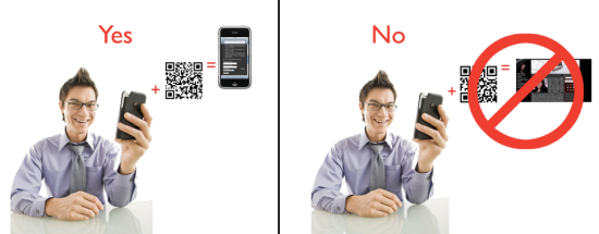 QR Codes Should Scan To Mobile